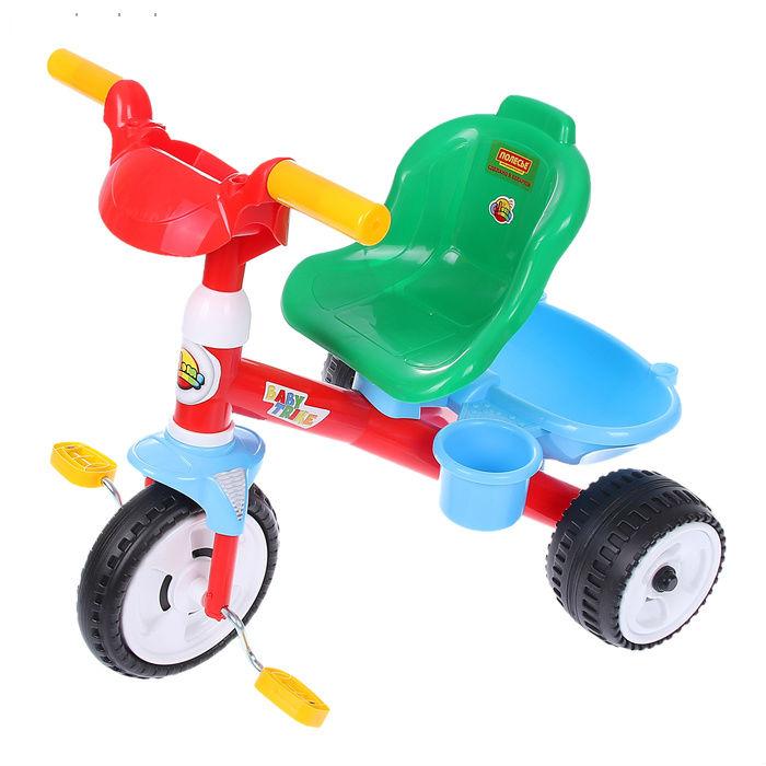 Trojkolka Baby Trike farebná