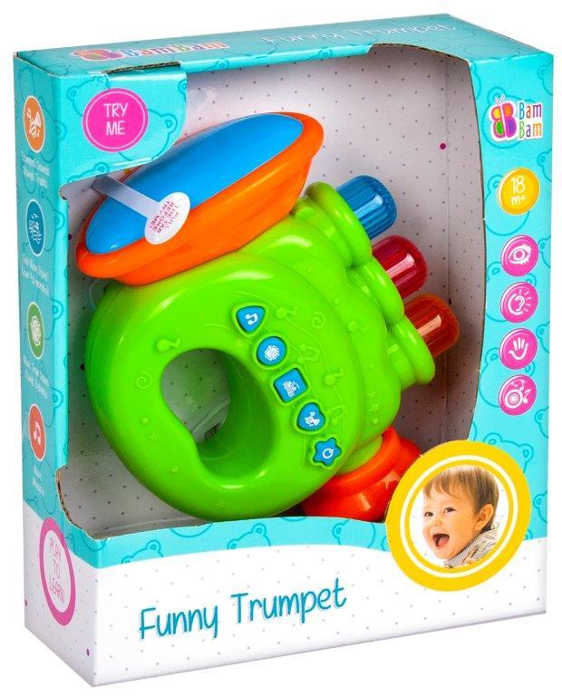 BamBam zábavná trumpeta