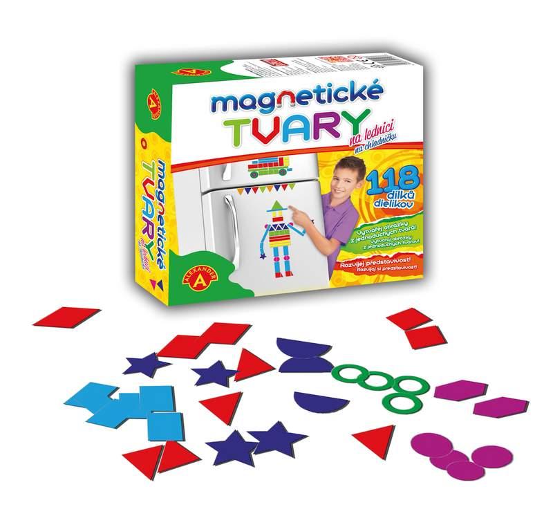 Magnetické tvary 118ks