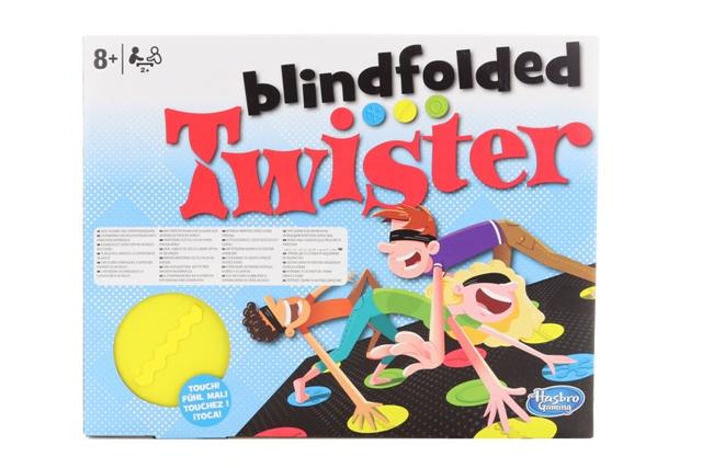 Spoločenská hra Twister naslepo