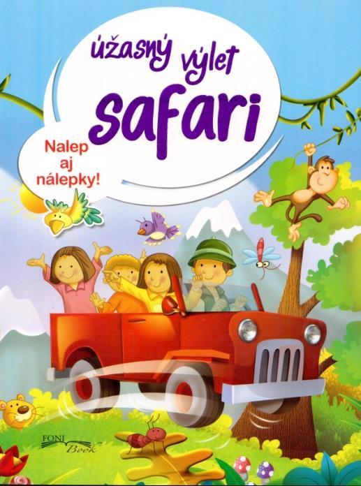 Úžasný výlet Safari úlohy s nálepkami