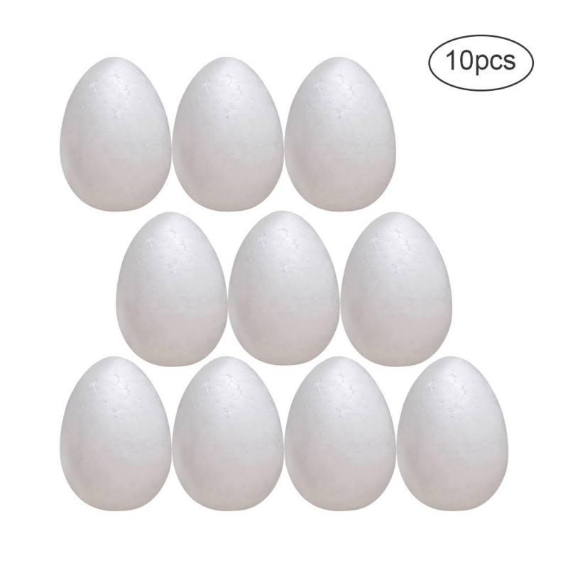 Polystyrénové vajíčka, dekoračné 10ks