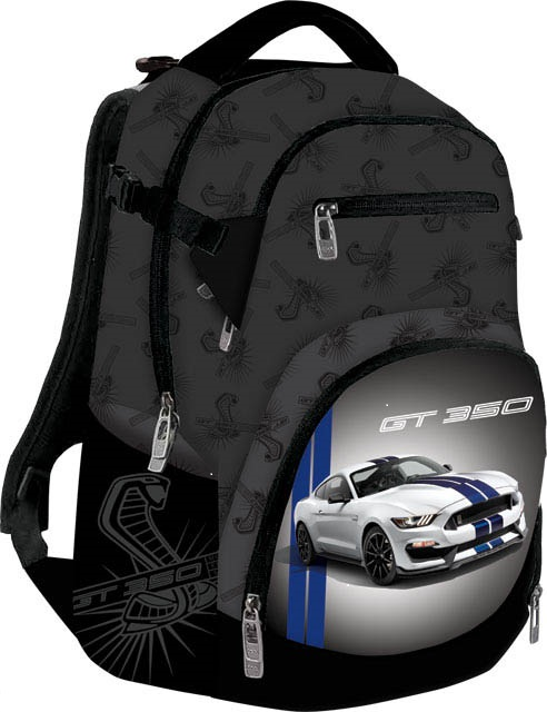 Školský batoh tmavomodrý Ford Mustang
