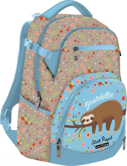 Školský batoh Lollipop Leňochod