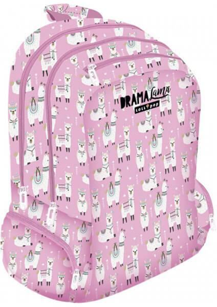 Školská taška Lollipop Drama Lama