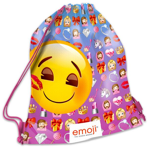 Vak na telesnú Emoji Girl 42x31cm