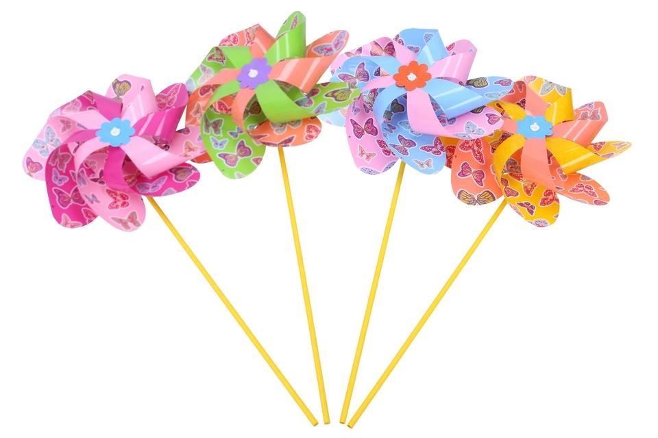 Veterník motýle 21x47cm