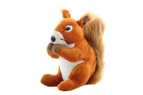 Veverička plyšová