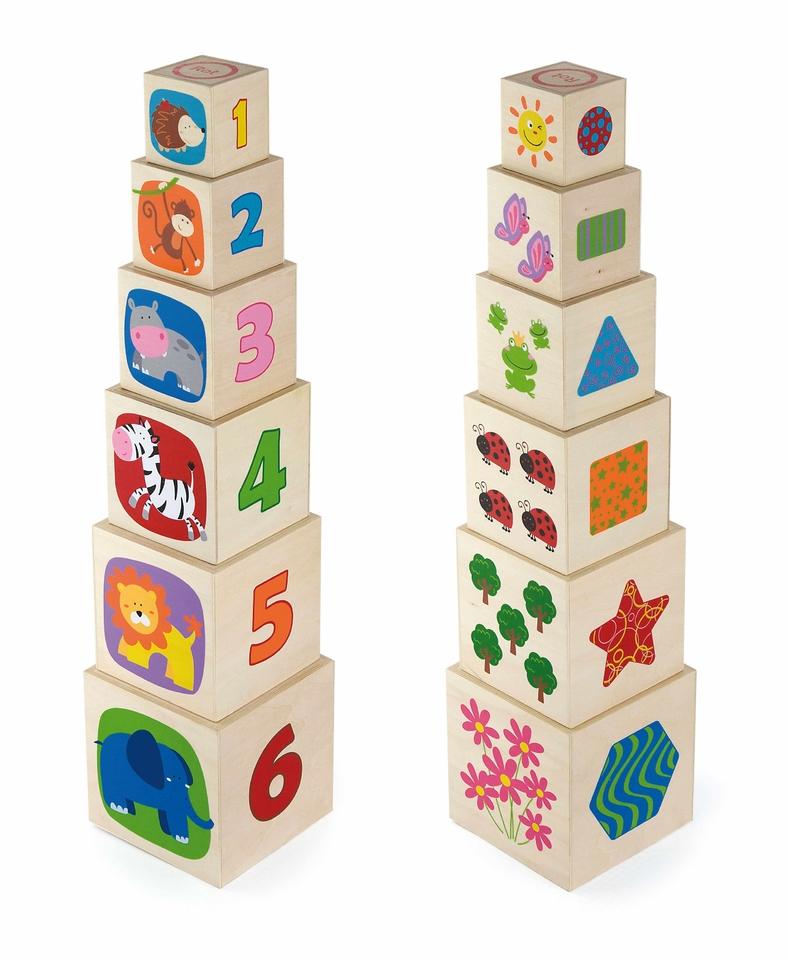 Drevená skladacia veža
