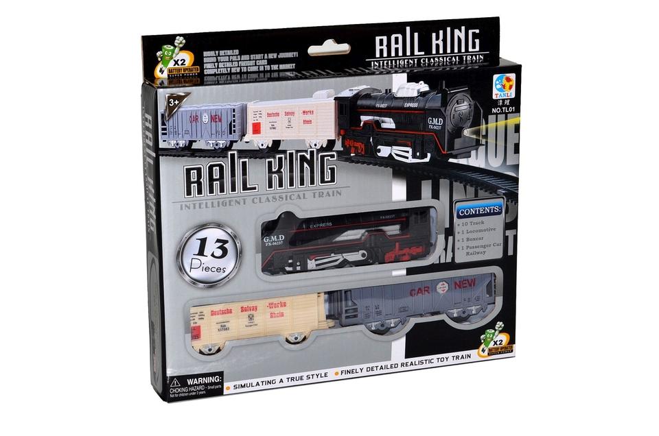 Vlaková súprava s dráhou