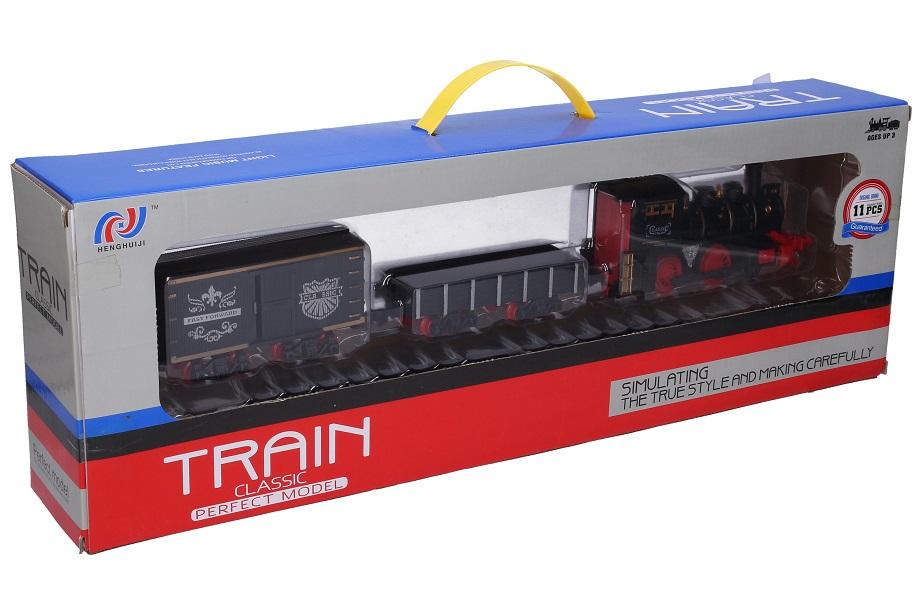 Vlak set s traťou 25x35cm