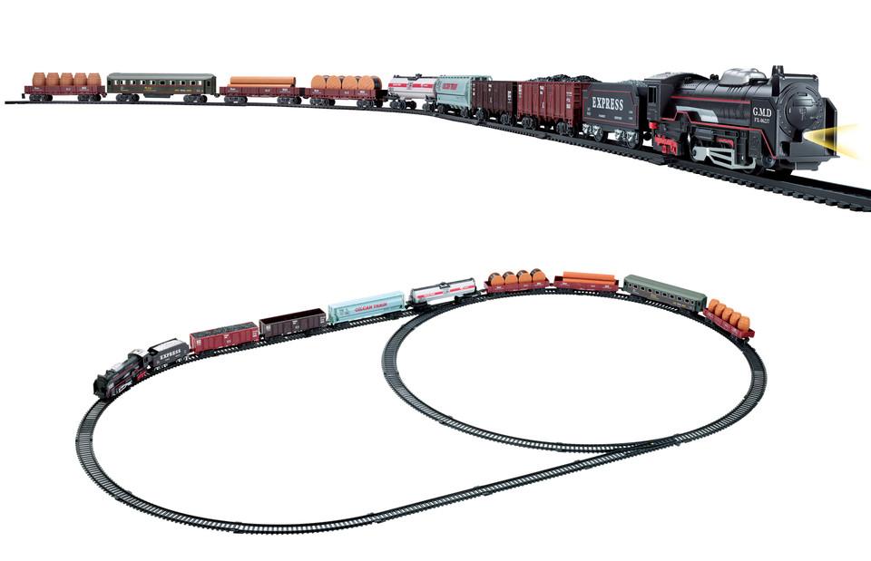 Vlakový set Rail King so svetelnými efektmi