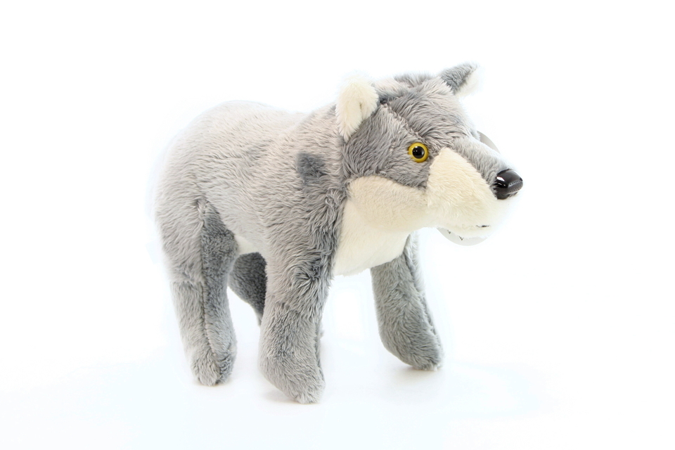 Vlk plyšový 28cm