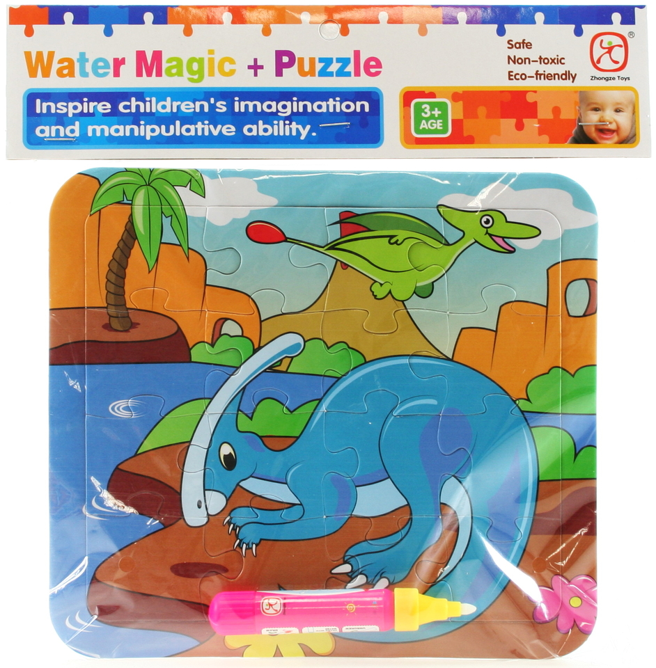Vodné maľovanie- Dinosaurus