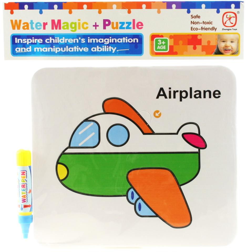Vodné maľovanie- lietadlo