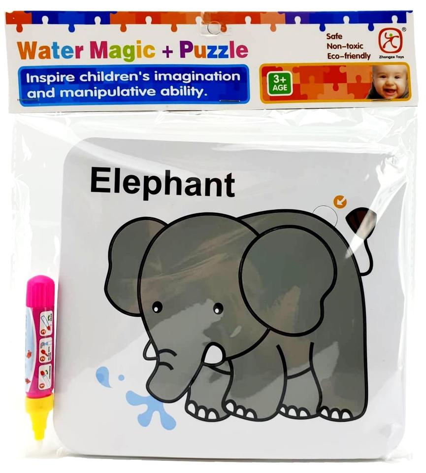 Vodné maľovanie- slon