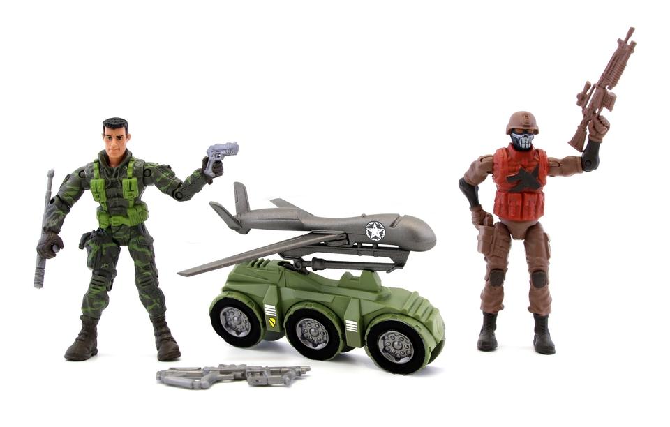 The Corps! Vojaci 2ks s príslušenstvom 10cm