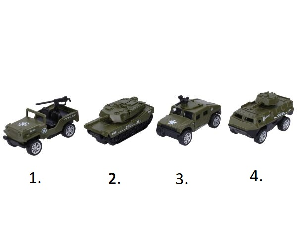 Vojenské vozidlo 8 cm