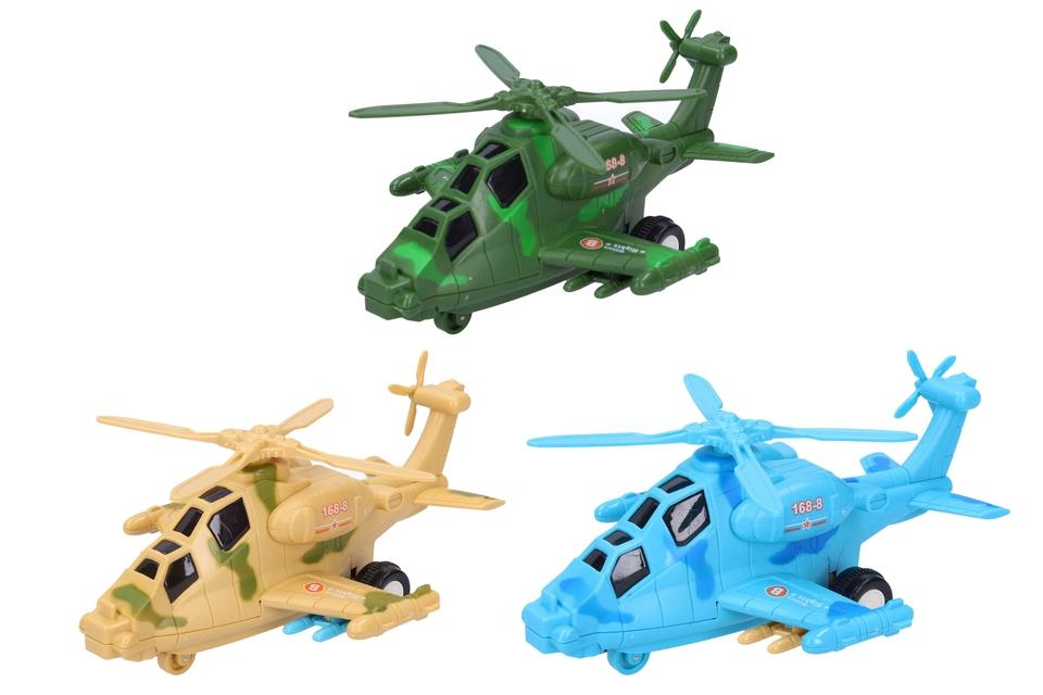 Vrtulník 19cm - náhodná