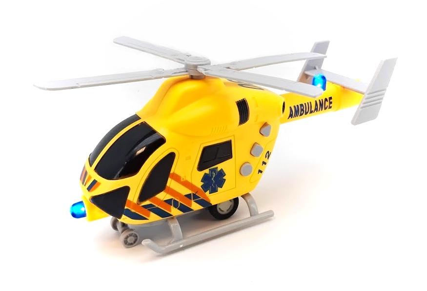 Vrtuľník záchranár 20cm