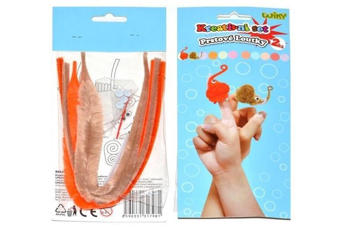 Vyrob si prstové bábky-slony
