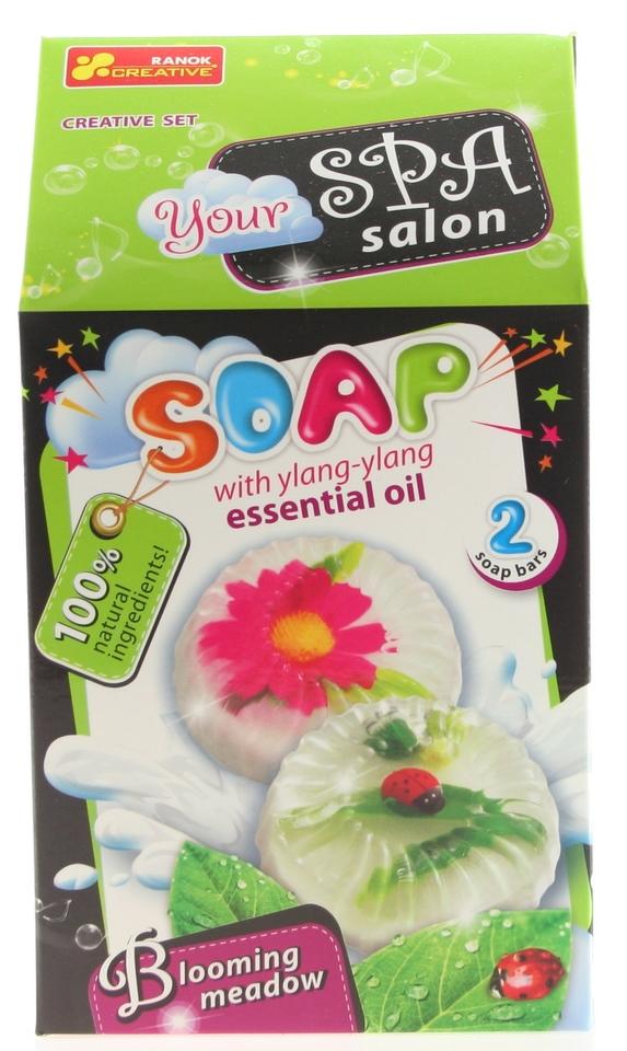 Výroba mydla Kvitnúca lúka 2ks