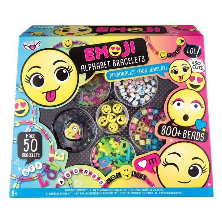 Výroba náramkov Emoji set