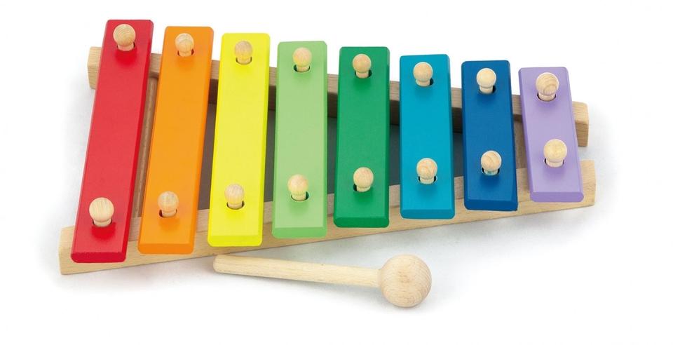 Xylofón drevený