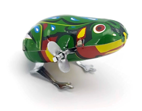 Žaba naťahovacia 7cm