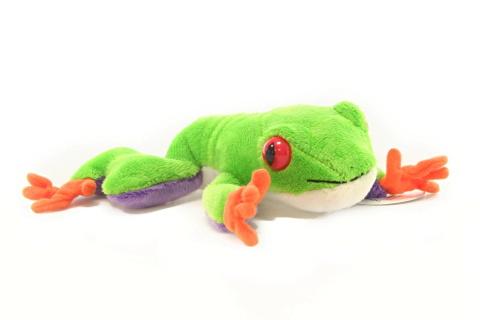 Žaba plyšová