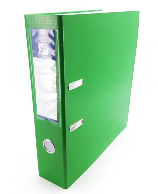 Zakladač pákový A4, zelený