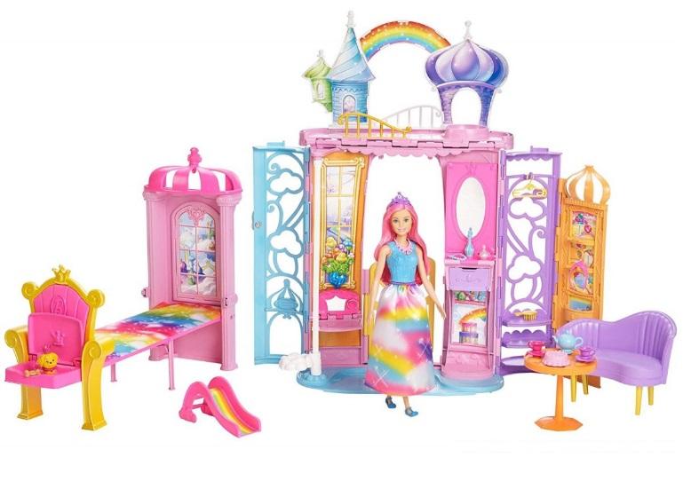 Dúhový zámok Barbie