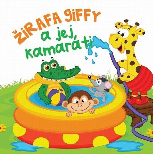Gumená knižka Žirafa Giffy a jej kamaráti