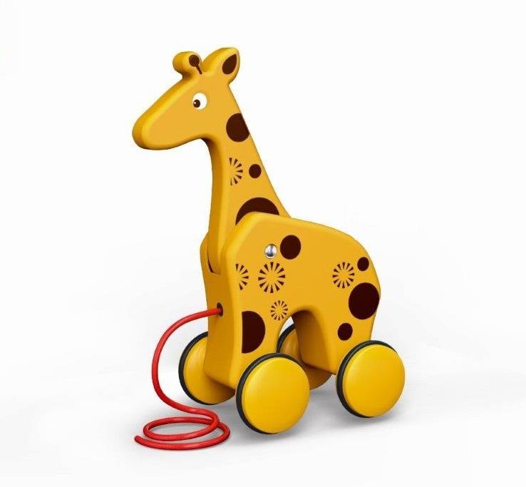 BamBam ťahačka žirafa