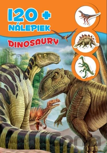 Zošit Dinosaury +120nálepiek