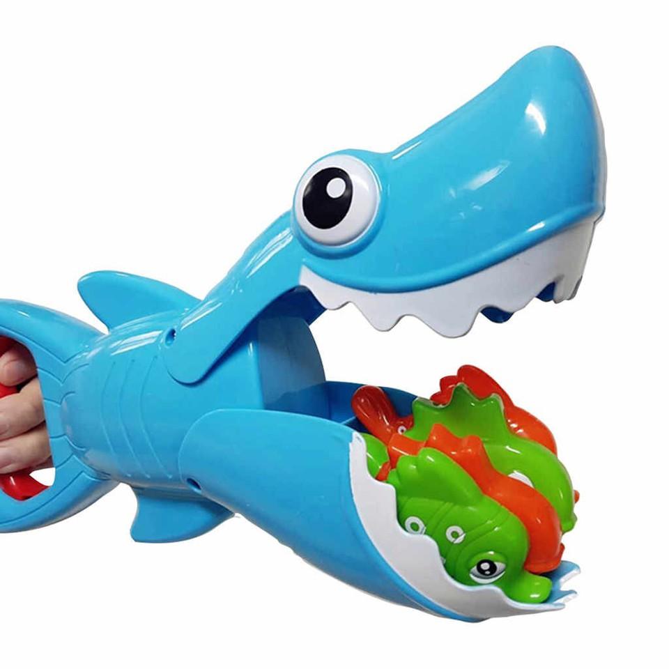 Žralok chytanie rybičiek 29cm
