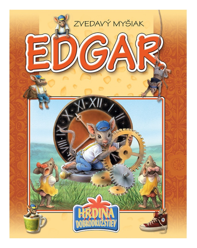 Kniha Zvedavý myšiak Edgar