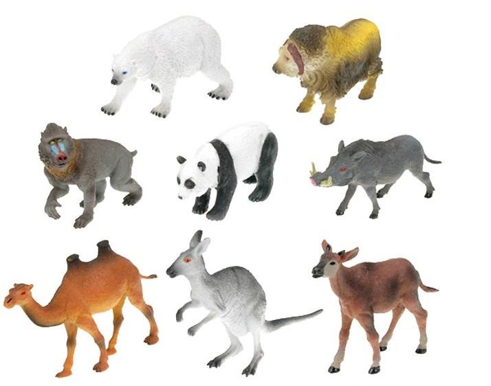 Zvieratko Safari mix 12-18cm