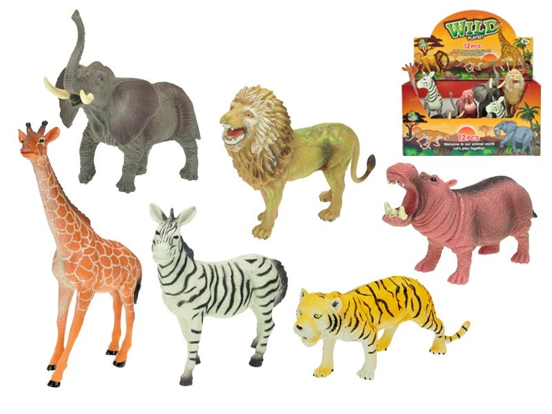Zvieratká safari 15-20cm