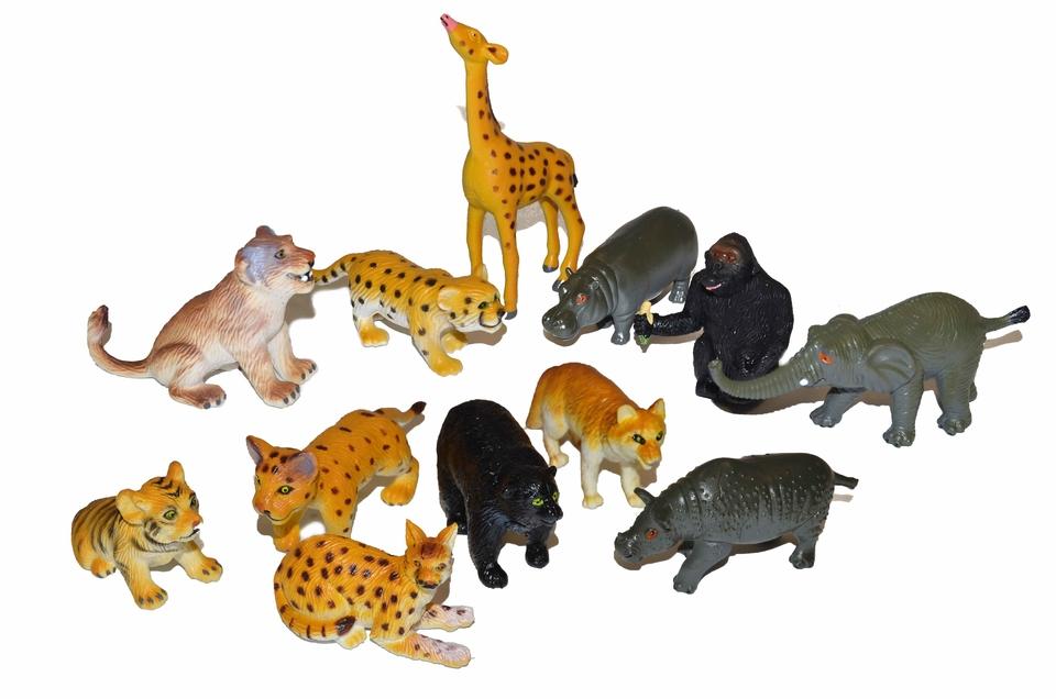 Zvieratká Safari 6ks