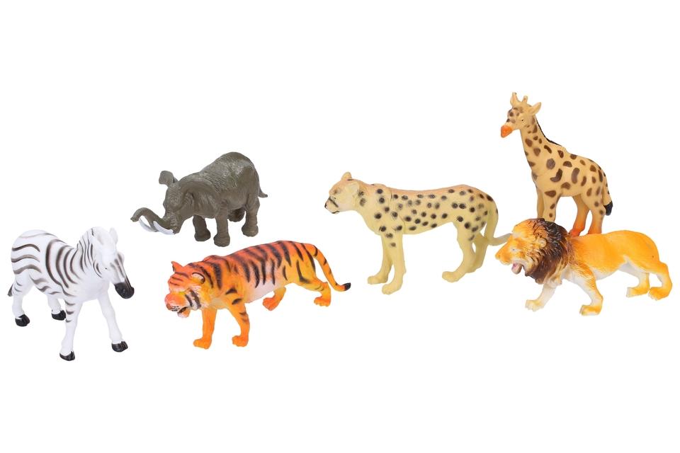 Zvieratka safari 6ks