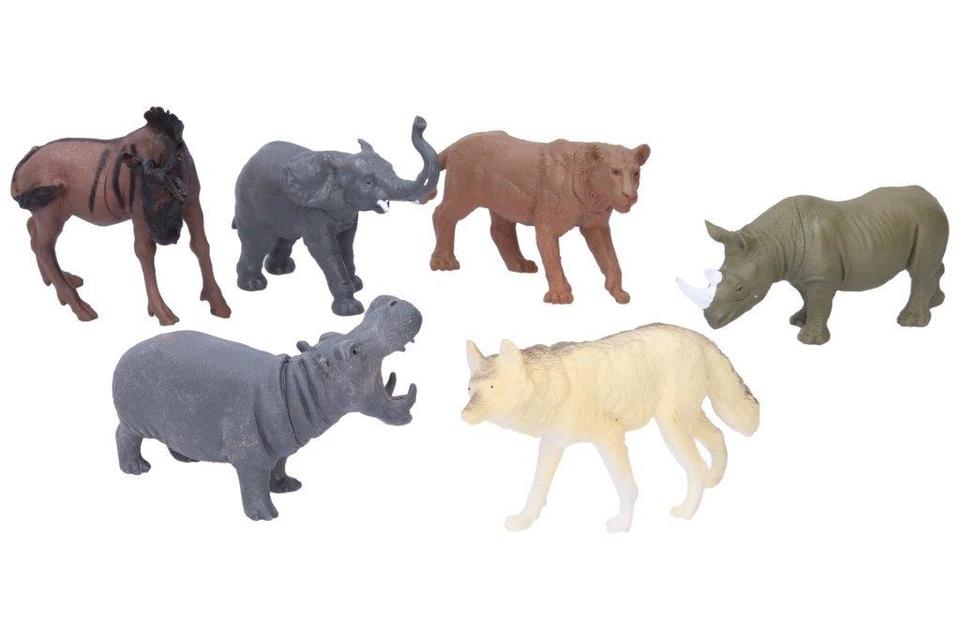 Zvieratká safari 6ks 11cm