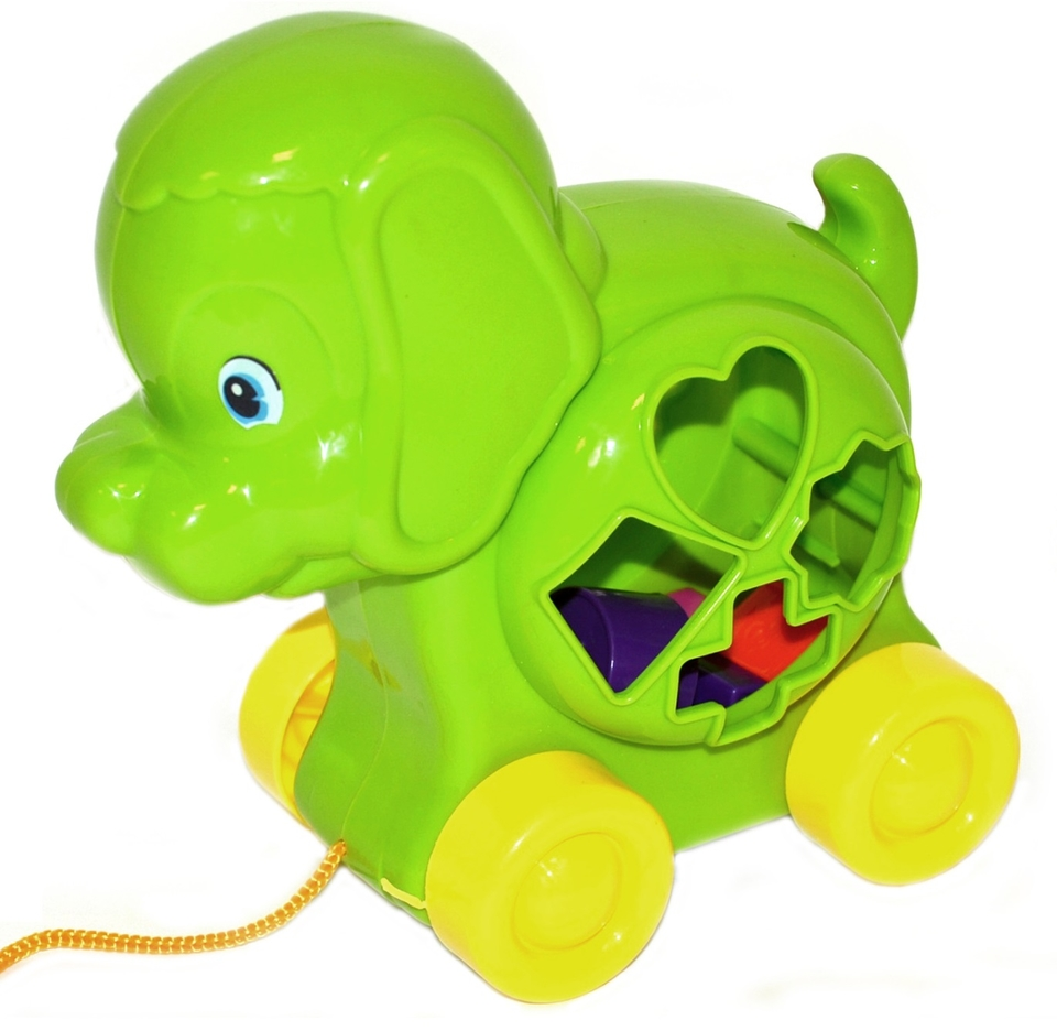 Zvieratko didaktické 22cm - zelená