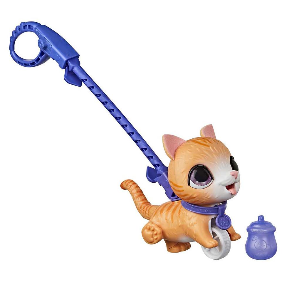 Mačička ryšavá Peealots Furreal 13cm