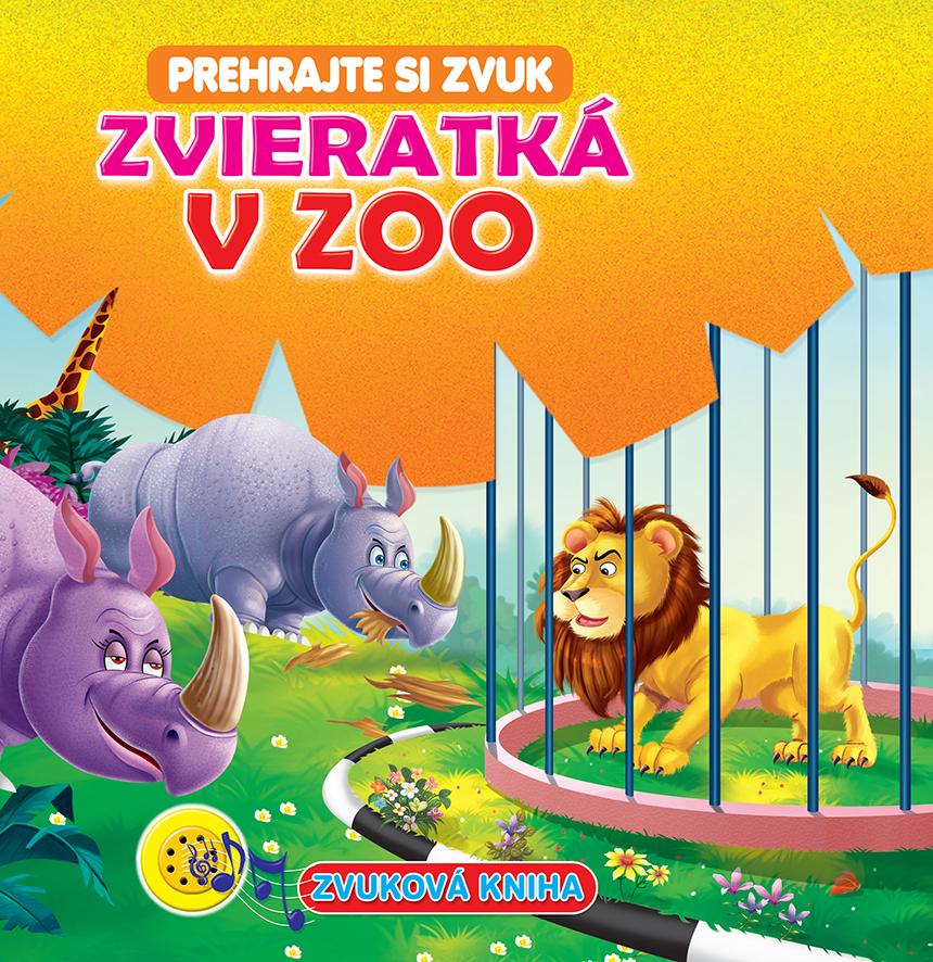 Zvuková kniha Zvieratká v ZOO