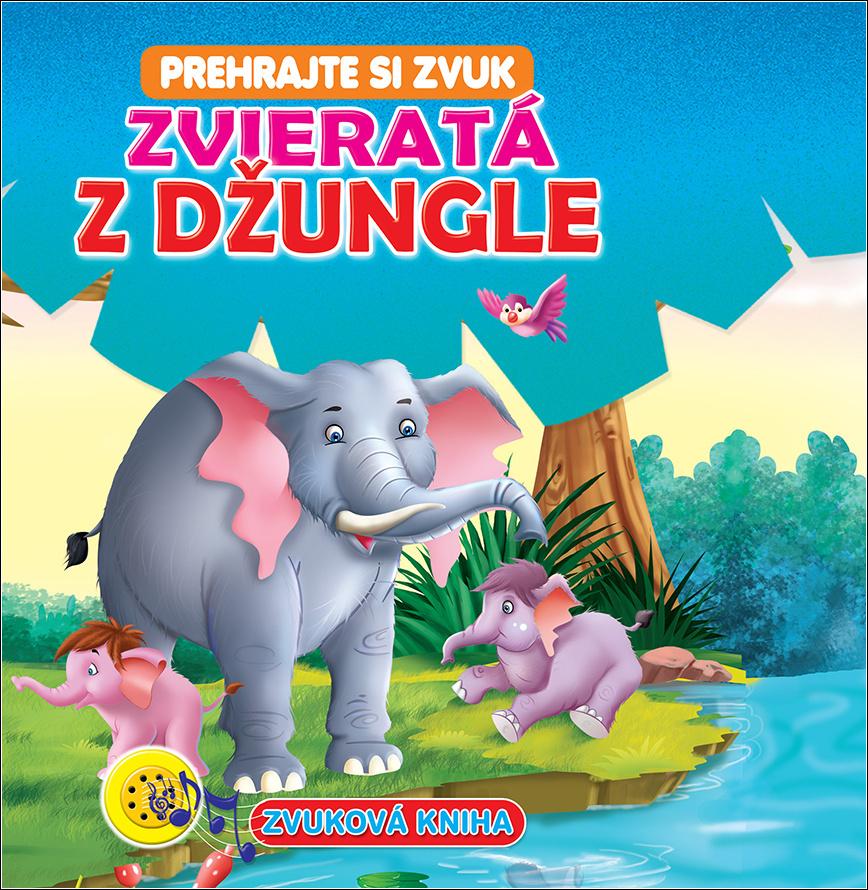 Zvuková kniha Zvieratá z džungle
